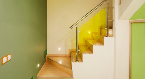 modern stair railing design made from stainless steel staircase handrails and glass stair railings
