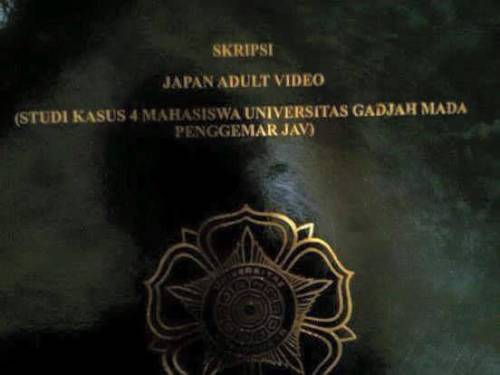 Skripsi Japan Adult Video (JAV)