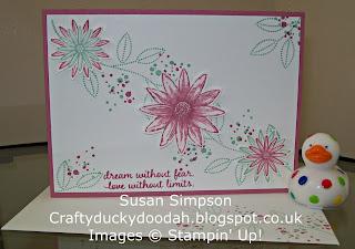 Stampin' Up! Susan Simpson Independent Stampin' Up! Demonstrator, Craftyduckydoodah!, Grateful Bunch, Timeless Textures, Picture Perfect,