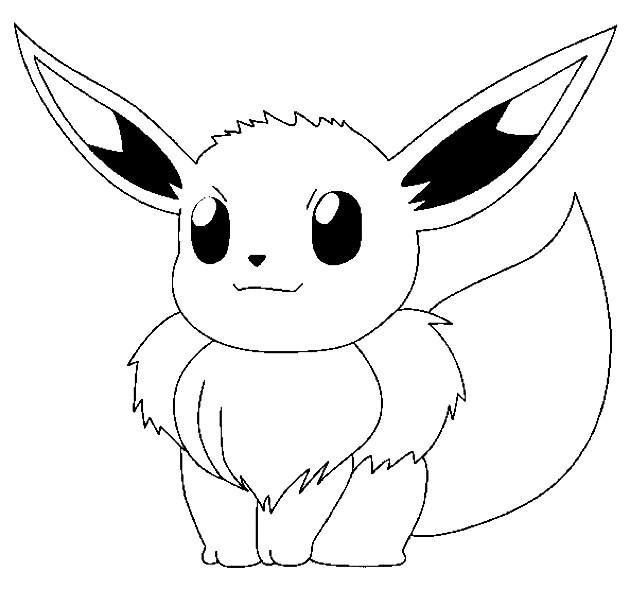 Desenhos De Pokemon's Para Colorir