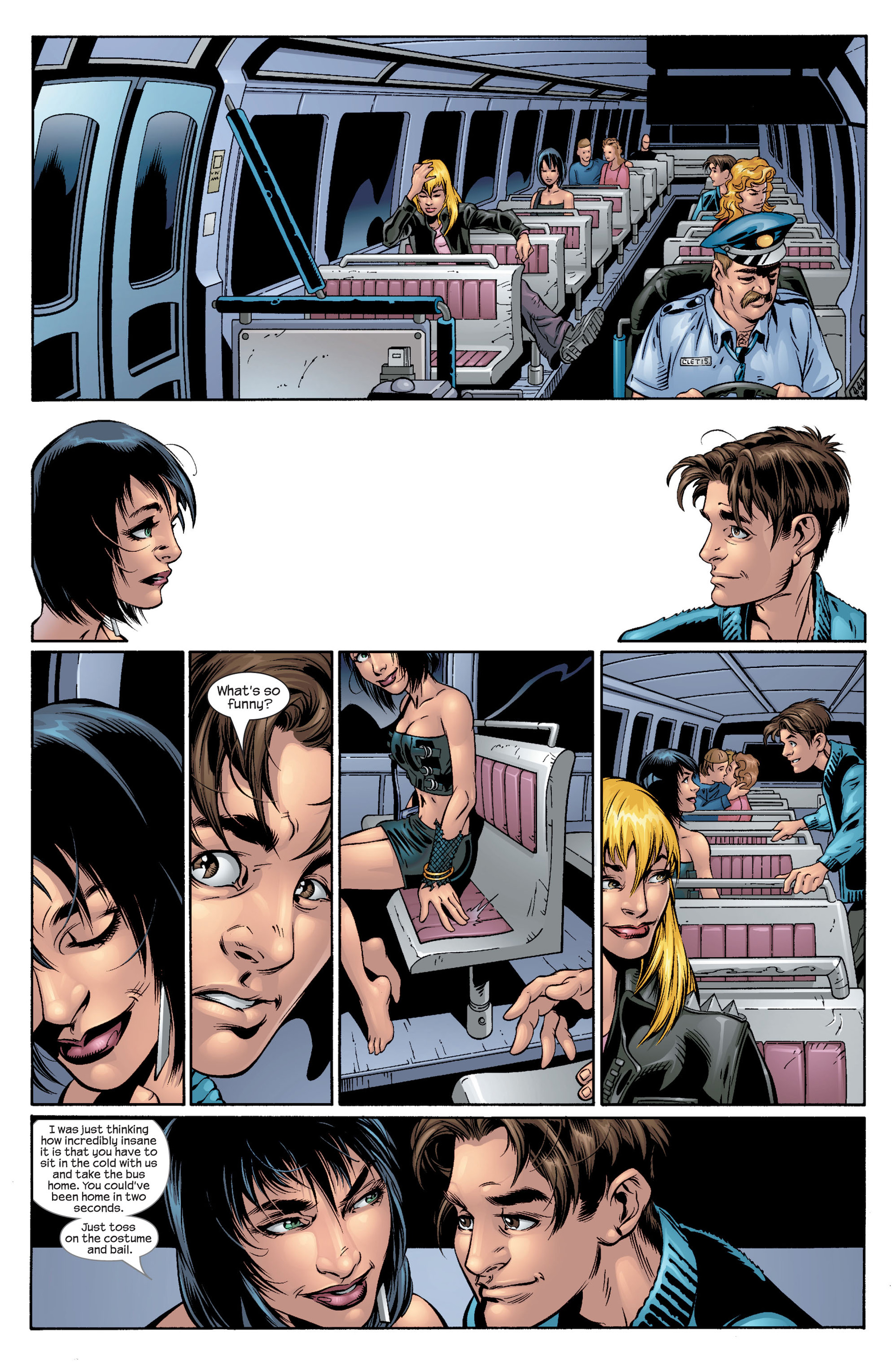Read online Ultimate Spider-Man (2000) comic -  Issue #41 - 9
