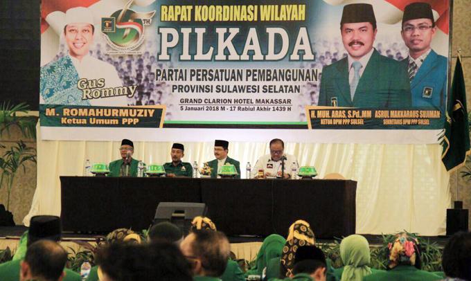 Cakka Hadiri Rakorda Pemenangan PPP
