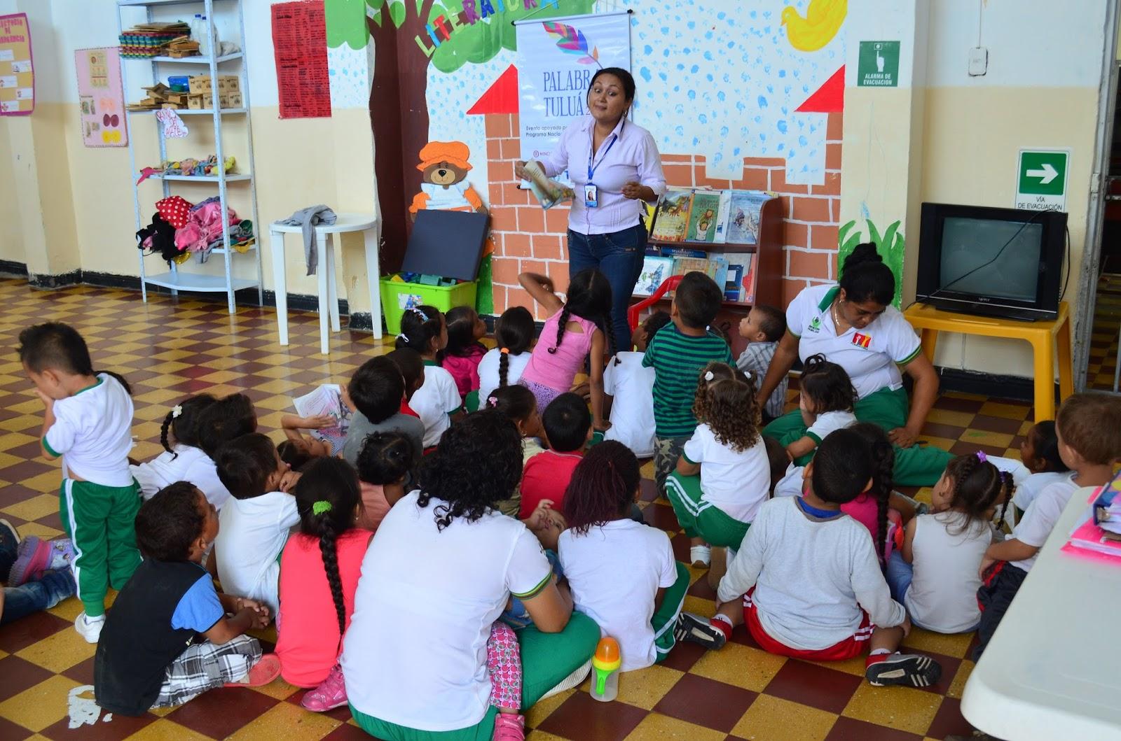 Biblioteca p blica municipal hora del cuento en el jard n for Jardin infantil serrano 78