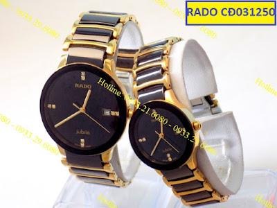 đồng hồ cặp đôi rado cd031250