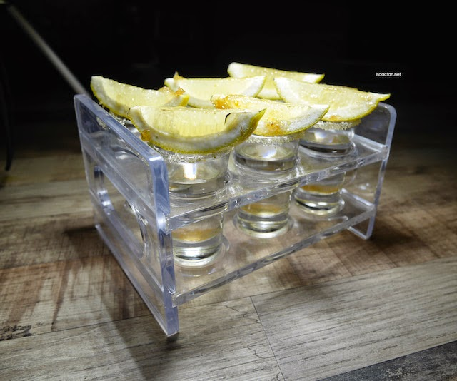 Spicy Lemon Drops - Single (RM20) A tray of 6 (RM90), shots for that extra kick