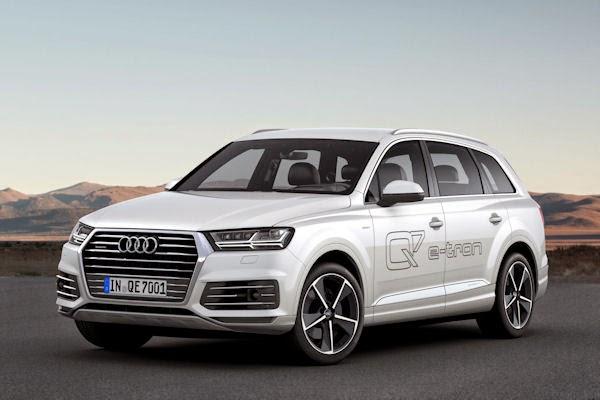 2016 Audi Q7 e-Tron Quattro Diesel Plug-In Hybrid