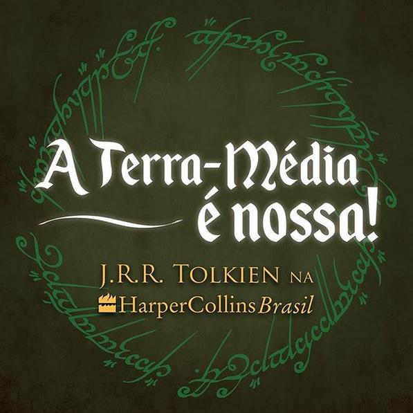 Coleção do JRR Tolkien será relançada pela Harper Collins