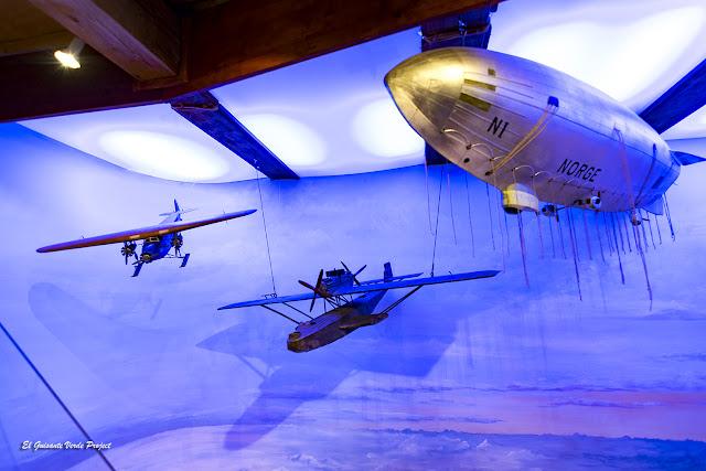 Dirigible Norge - Museo Polar, Tromsø por El Guisante Verde Project