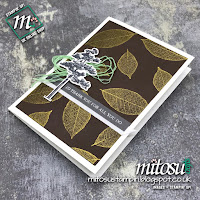 Stampin' Up! Rooted In Nature SU Handmade Card Idea. Order Craft Products from Mitosu Crafts UK Online Shop