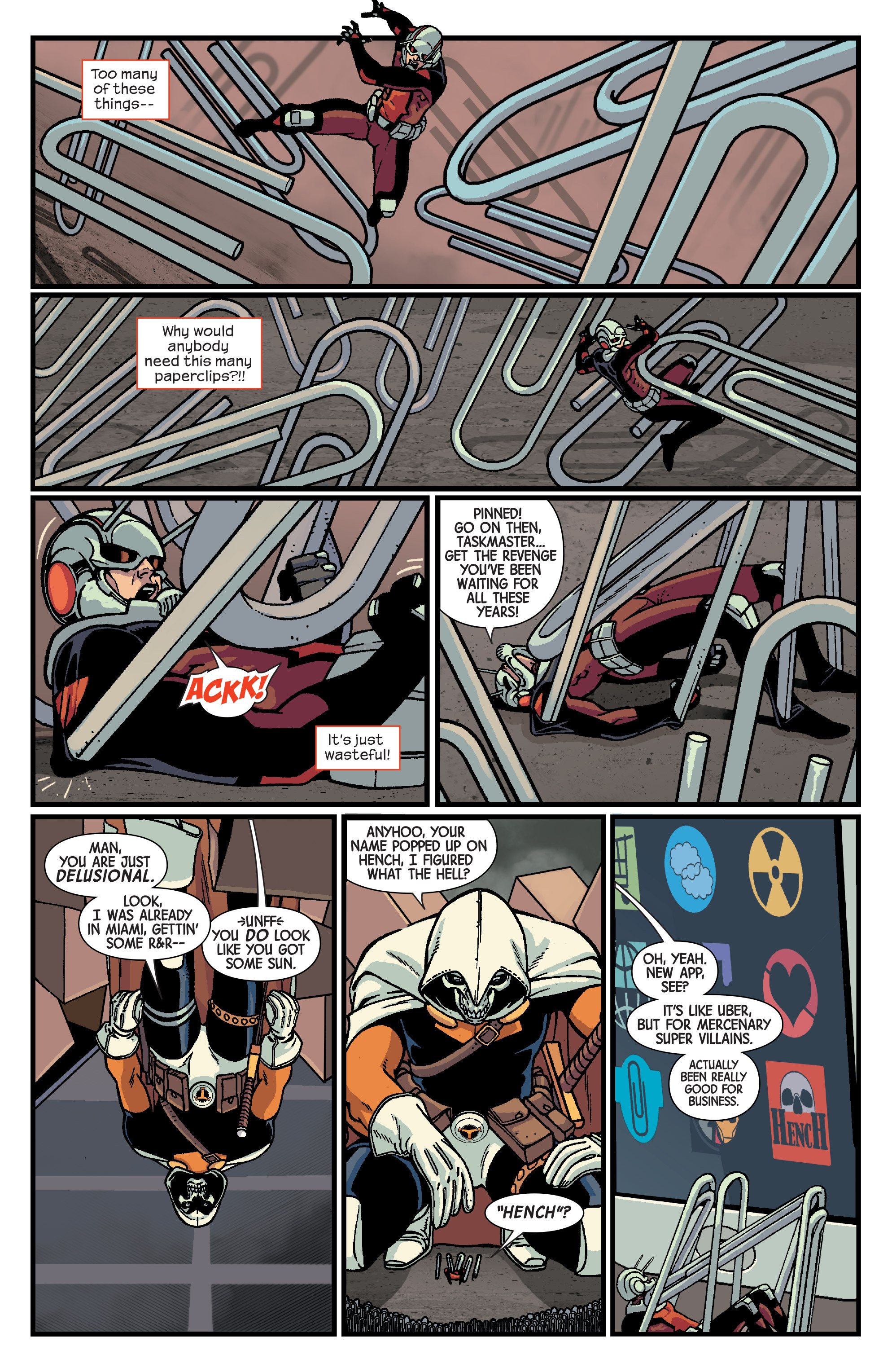 Read online Ant-Man comic -  Issue #3 - 17