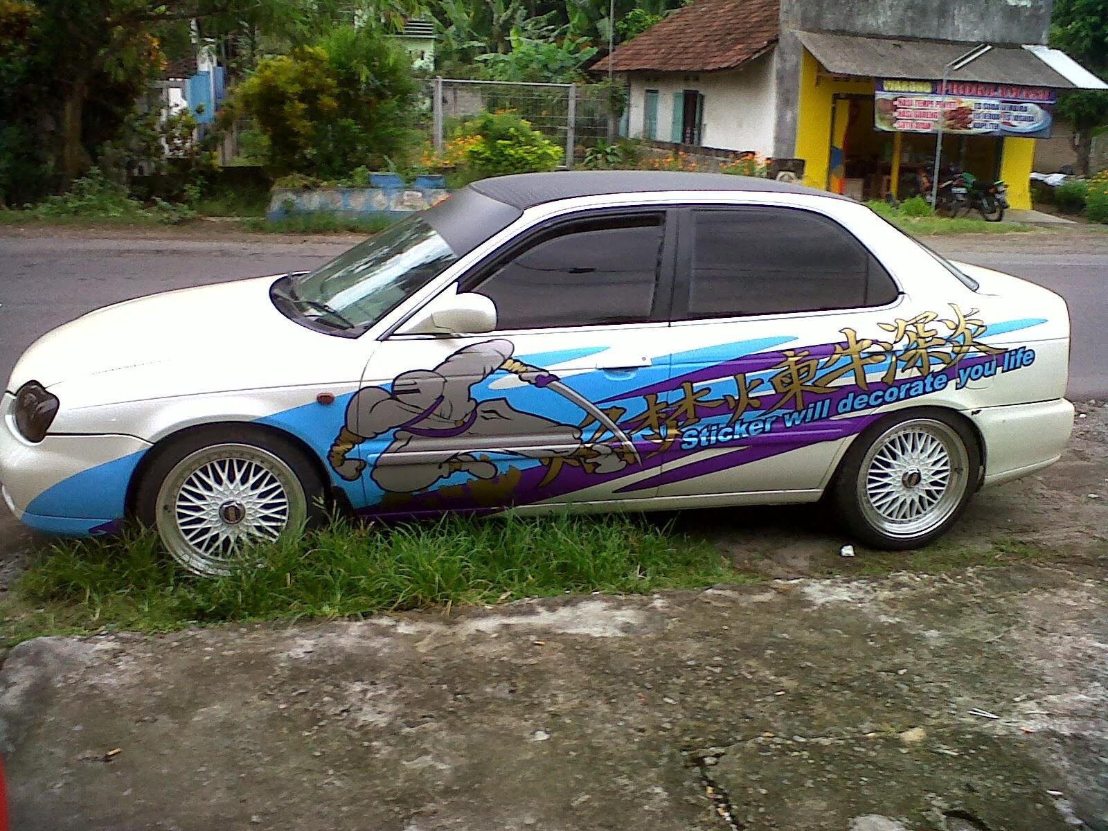 Modifikasi Stiker Mobil Soluna Ottomania86