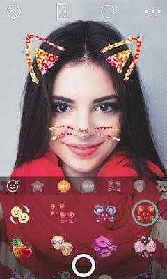 Unduh Stiker B612 : unduh, stiker, Terbaik, Untuk, Download, Camera, Lengkap, Dengan, Stiker, Kucing, Sticker