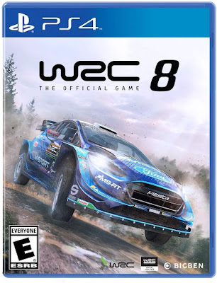 Wrc 8 Fia World Rally Championship Game Cover Ps4