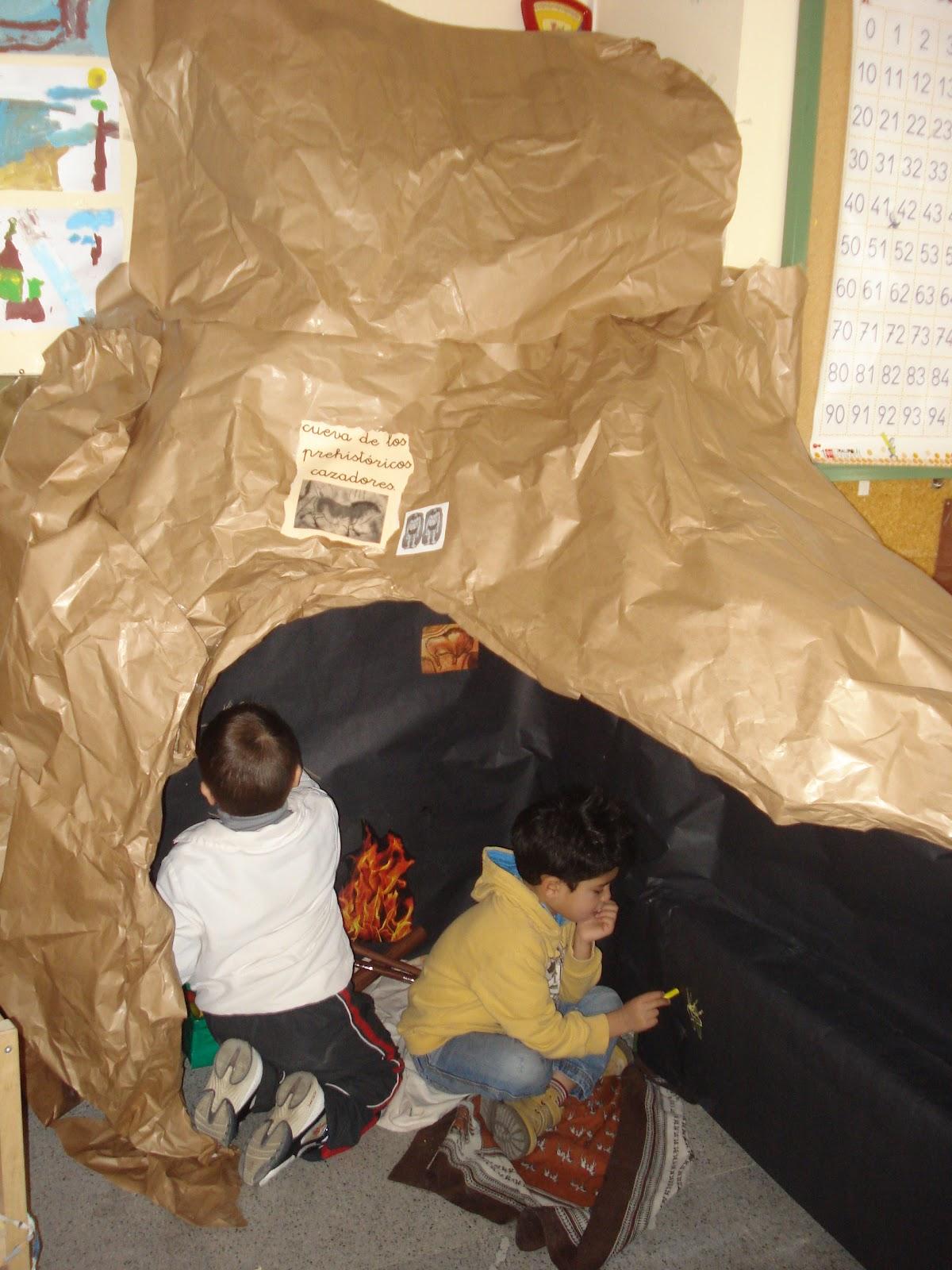 Hacemos una obra de arte La cueva de los prehistricos