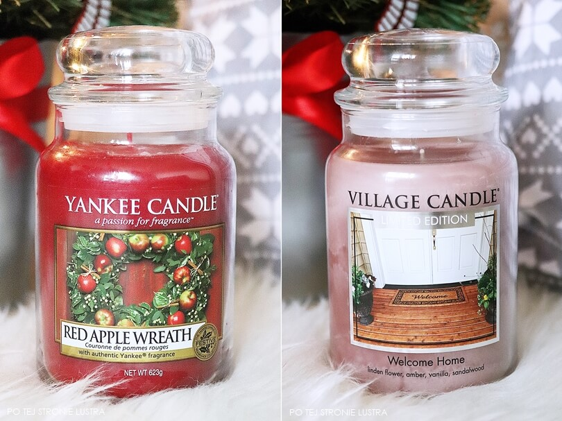 red apple wreath yankee candle i welcome home village candle