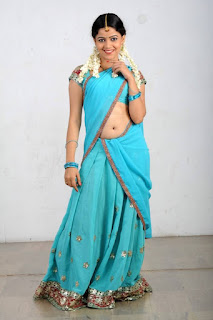 Actress Anu Upadhyaya Pictureshoot Gallery in Traditional Half Saree  0004.jpg