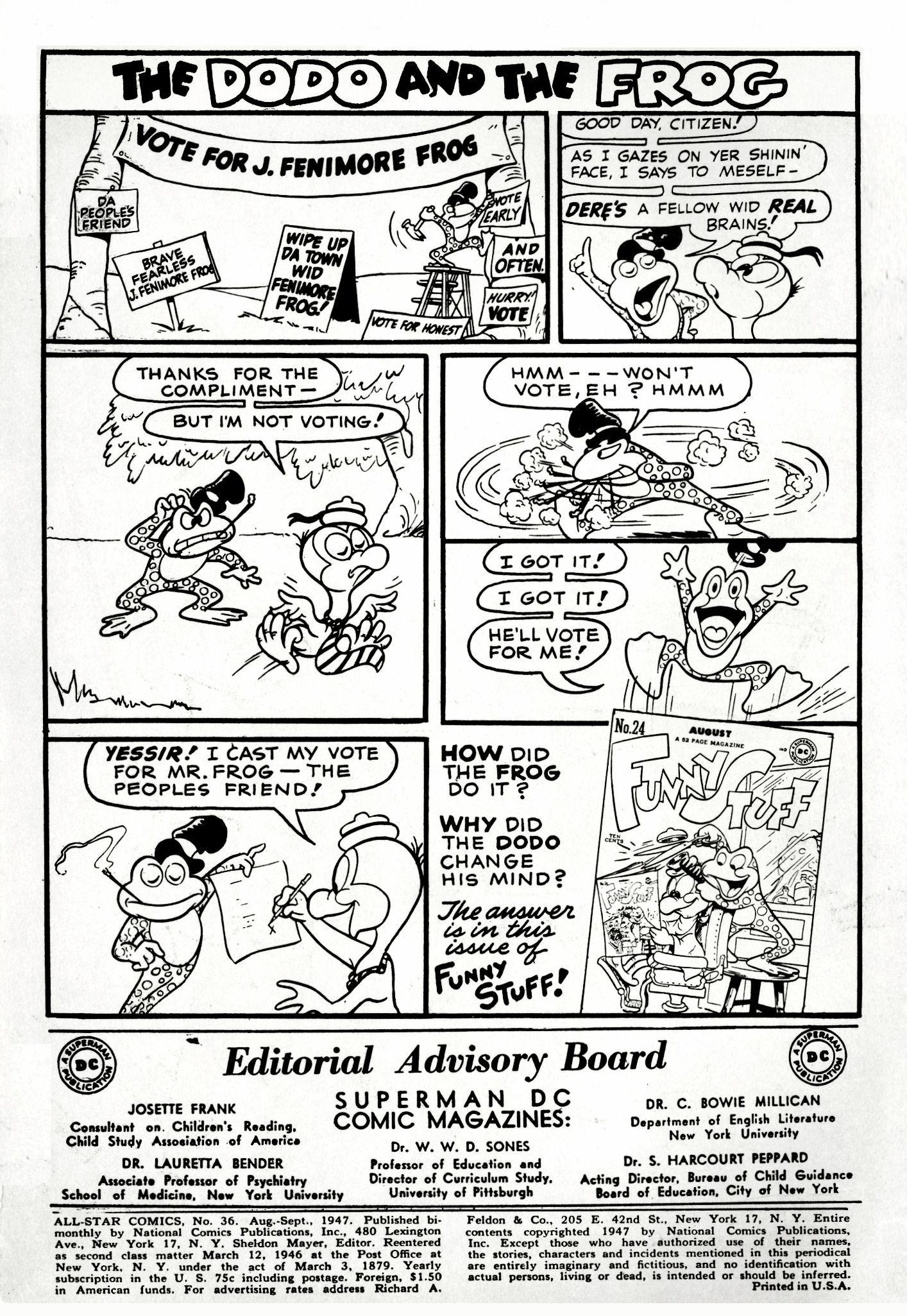 Read online All-Star Comics comic -  Issue #36 - 2