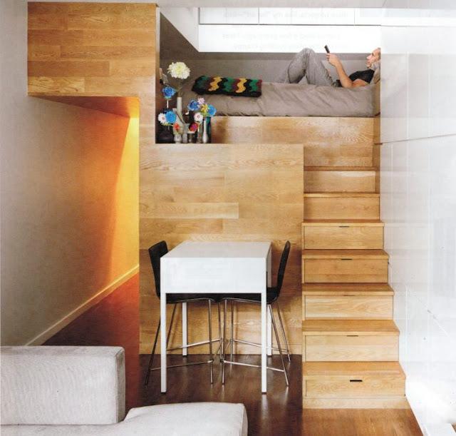 ideas para ahorrar espacio en tu habitación