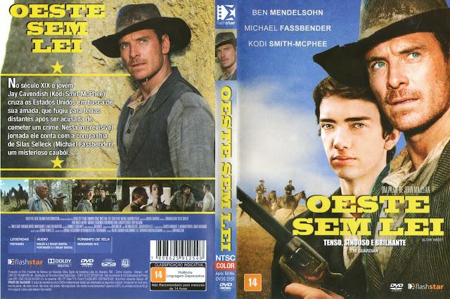 Capa DVD Oeste Sem Lei