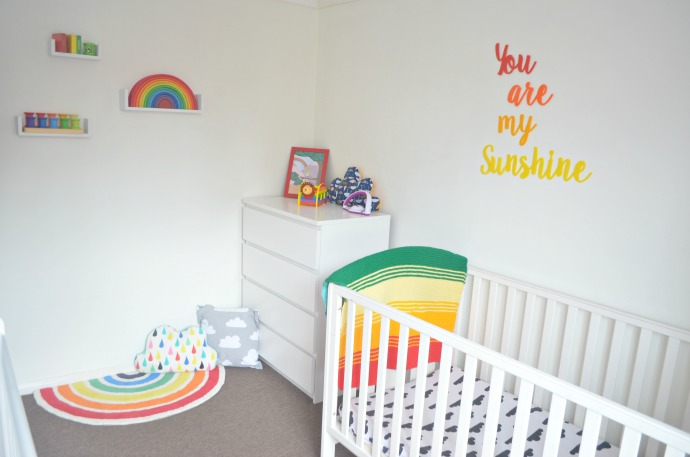 Good I have loved decorating this rainbow room for them
