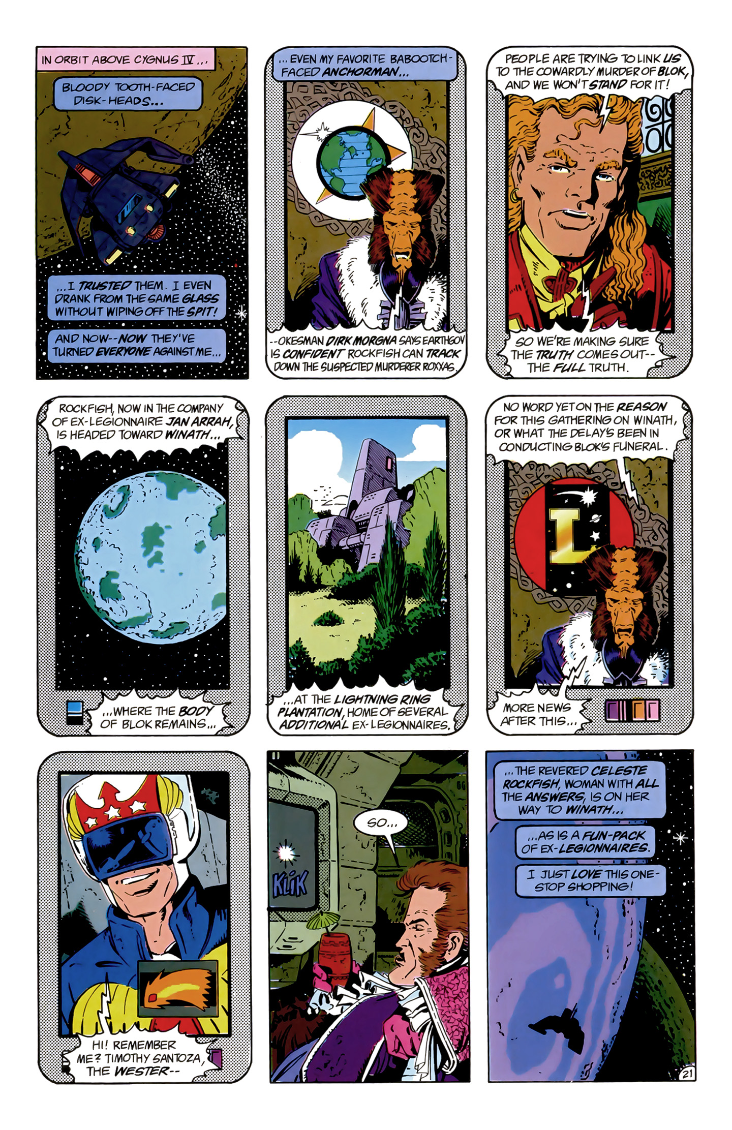 Legion of Super-Heroes (1989) 9 Page 21