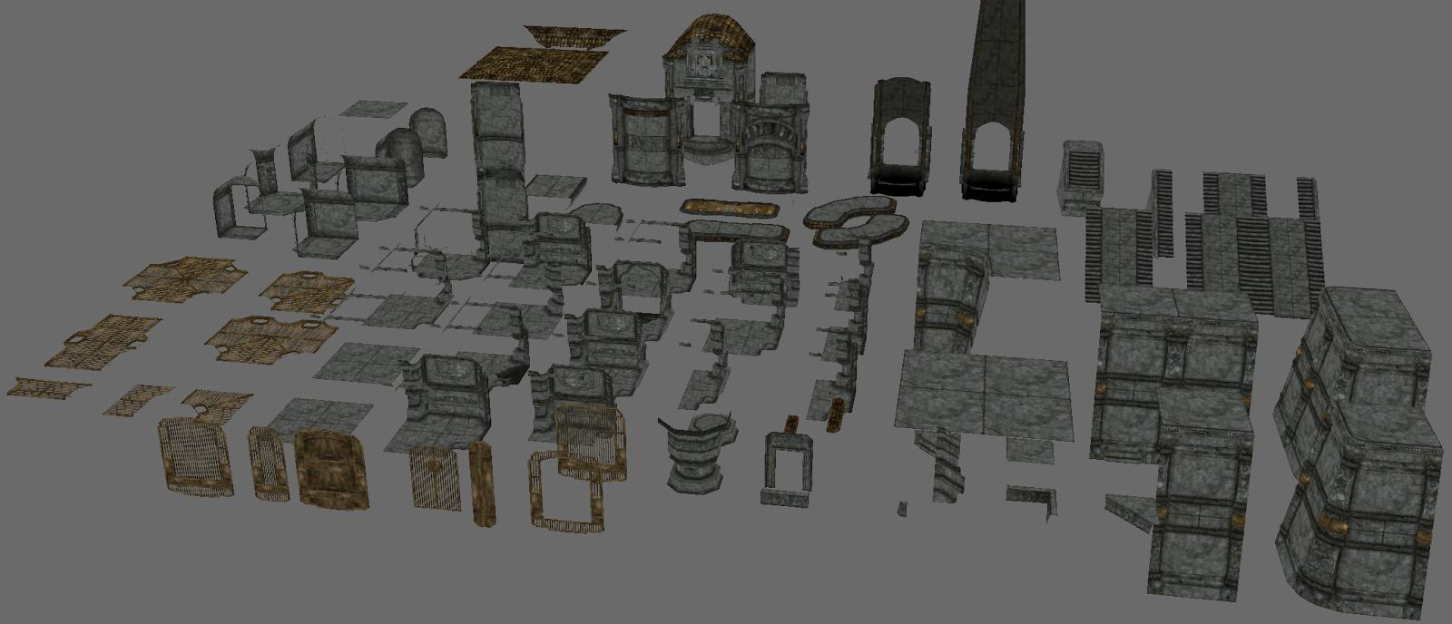 Game Environment Texturing