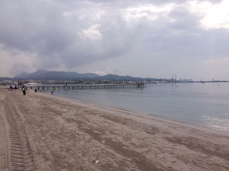 Spiaggia a Port d'Alcudia