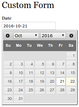 Use date pop-up calendar in custom form - drupal 7