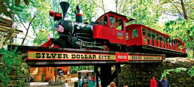 Siver Dollar City Rides
