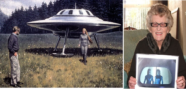 Αποχαρακτηρισμένα έγγραφα του FBI:Έχουν επισκεφθεί την Γη όντα από Παράλληλο Κόσμο!