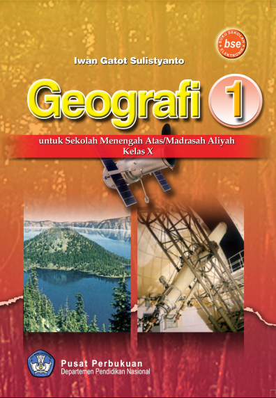 Download Buku Siswa KTSP SMA Kelas 10 Mata Pelajaran Geografi 1