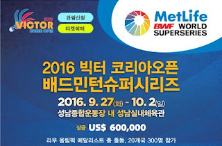 Victor Korea Open 2016