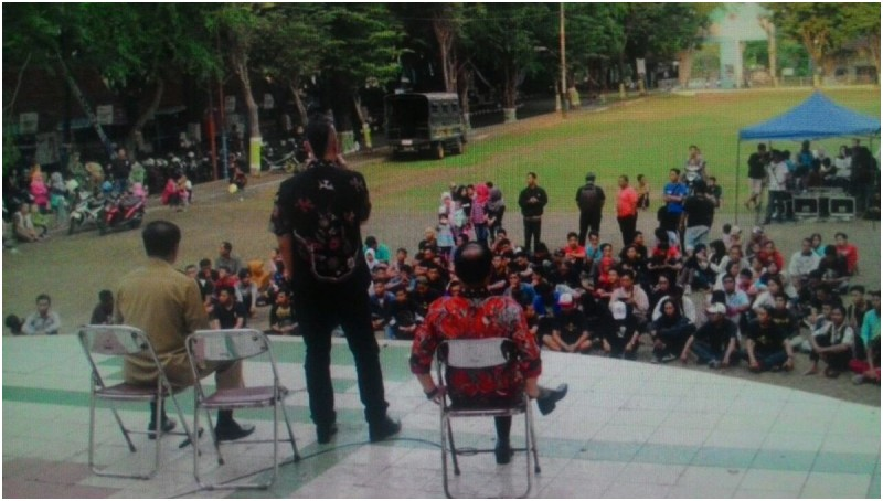 Ahmad Dhani hadir di Pantai Kartini Jepara