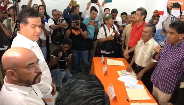Se registra Ricardo Mejía como precandidato a la alcaldía de Acapulco