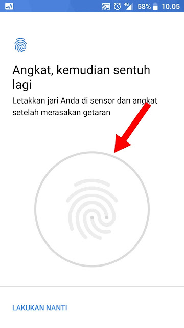 Cara Mudah Mengunci Smartphone Android dengan Sidik Jari