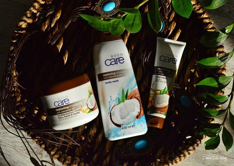 Kokosowa uczta - kosmetyki do pielęgnacji ciała Avon Care z Olejem Kokosowym
