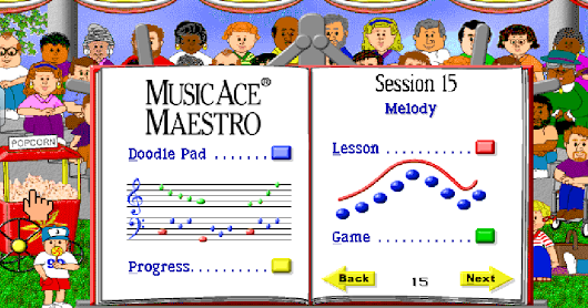 Second Graders Learn About Melody