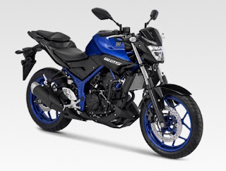 Warna Yamaha MT-25 Blue Metalic