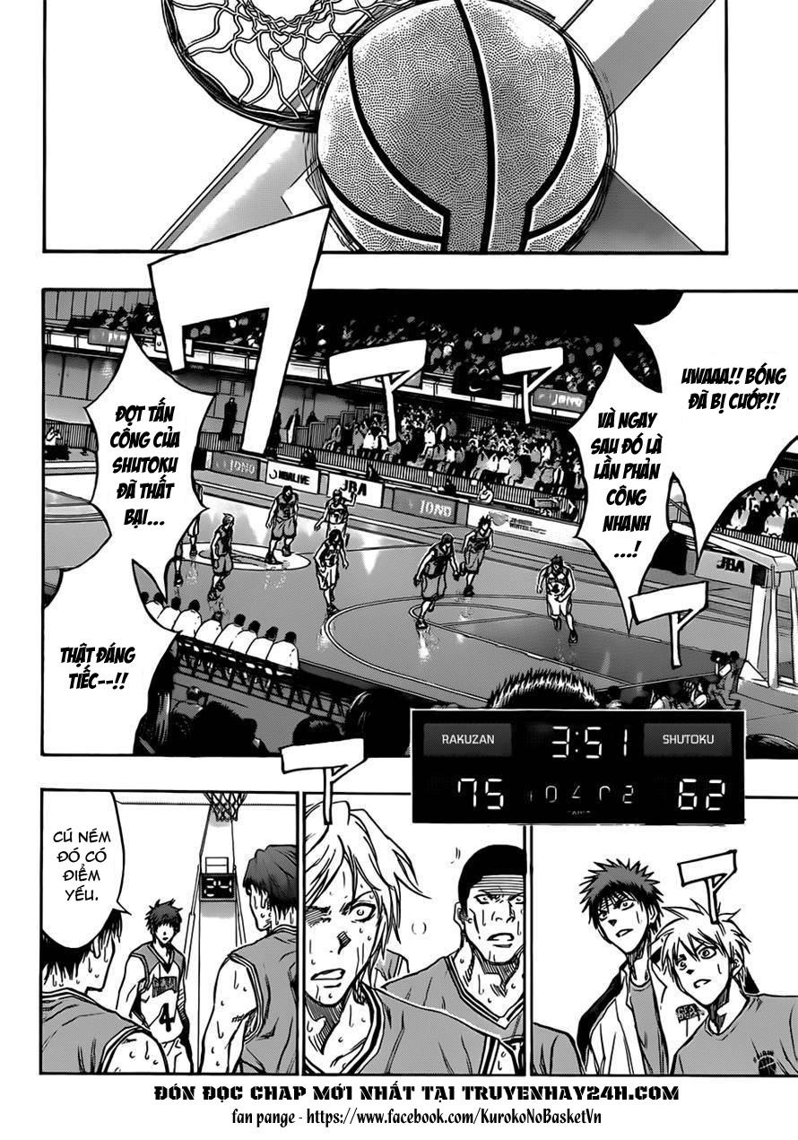 Kuroko No Basket chap 182 trang 10