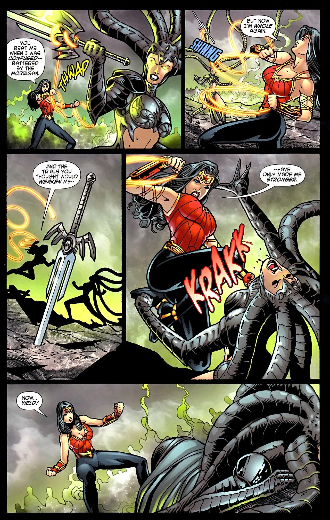Read online Wonder Woman (2006) comic -  Issue #614 - 4