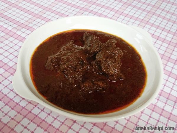 resipi kerutuk daging buku besar Kelantan yang sedap