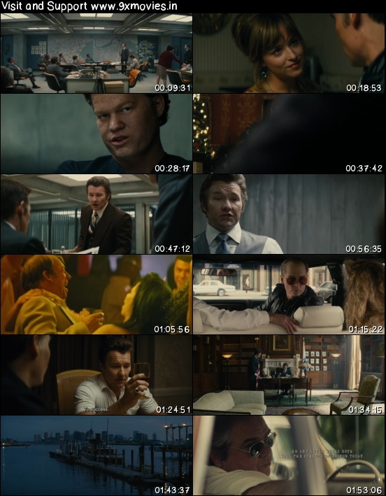 Black Mass 2015 English 480p BRRip 350mb ESubs