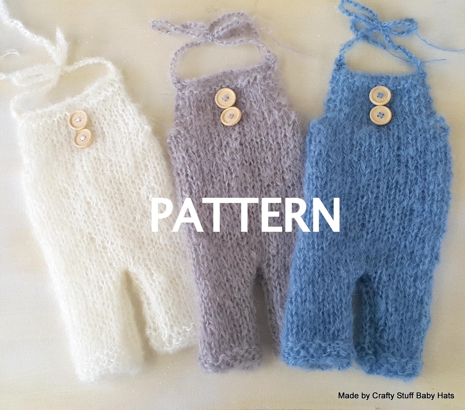 Crafty Stuff Baby Knits And Photo Props Knitting Pattern For
