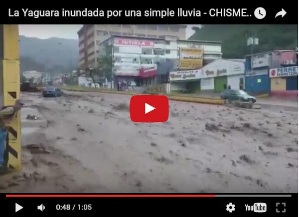 La Yaguara se inundó con dos gotas de lluvia