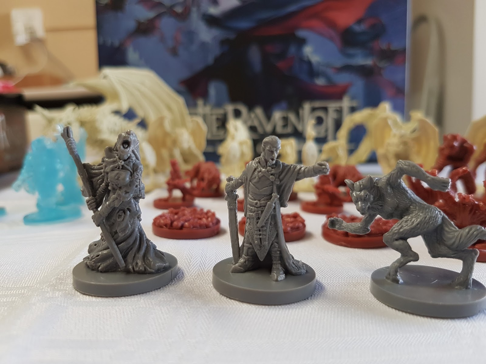 Dungeons And Dragons Castle Ravenloft Board Game Review Dungeons