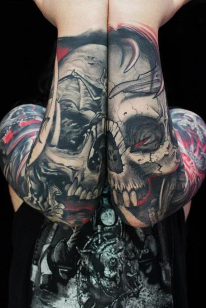 original tattoo skulls - photo #32