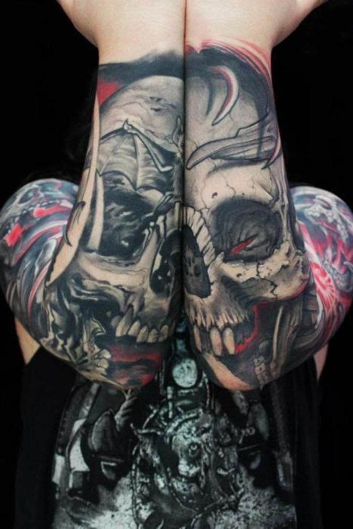 skull tattoo designs 3