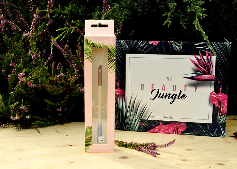 ShinyBox - Donegal Jungle Pędzel do cieni do powiek, konturowania brwi oraz nakładania eyelinera 4066