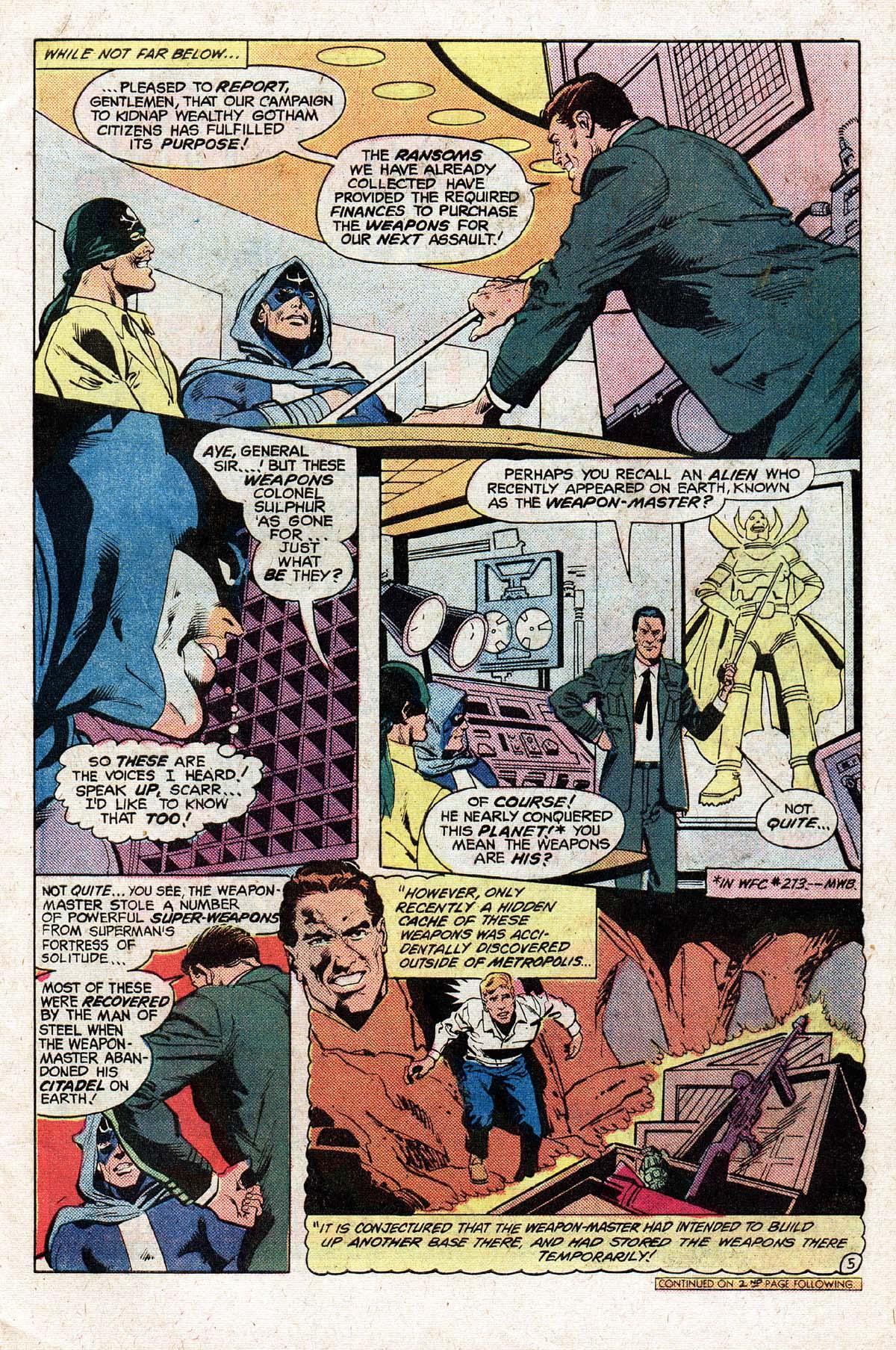 Read online World's Finest Comics comic -  Issue #280 - 6