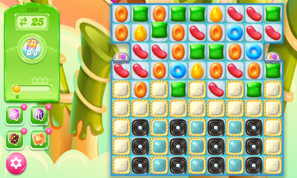 Candy Crush Jelly Saga 308